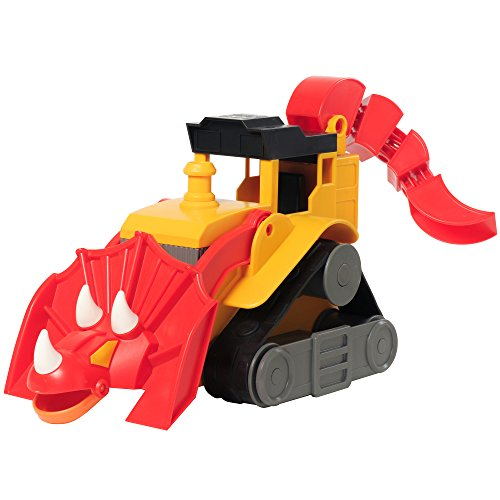 Educational Insights Dino Construction Company-T-Top the Triceratops Bulldozer