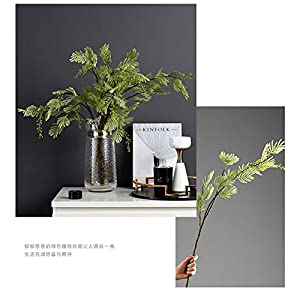 Artificial Decorative Flowers Fresh literary simulation mimosa high-end flower arrangement single bundle model room decoration flower study with flowers Flower Products include:Artificial Flowers. 5