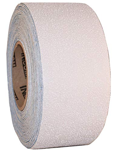 Armadillo White Heavy Duty Reflective Asphalt Marking Tape for High Impact Areas 3-Inch x 36 Foot Roll - Lane Marking Tape