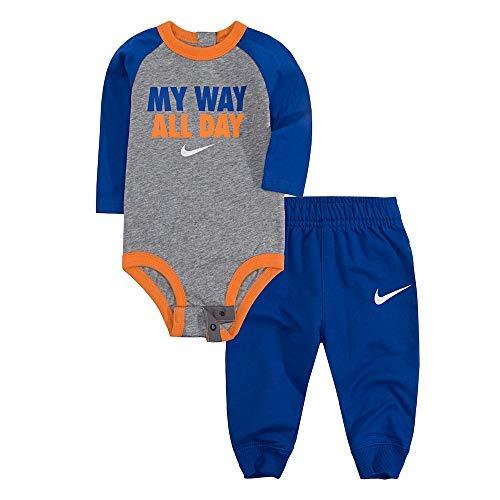 NIKE Baby Boys' 2-Piece Pants Set Outfit - Royal Blue, Newborn