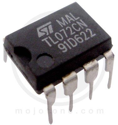 15pcs TL072 Dual Low-Noise General-Purpose Op-Amp