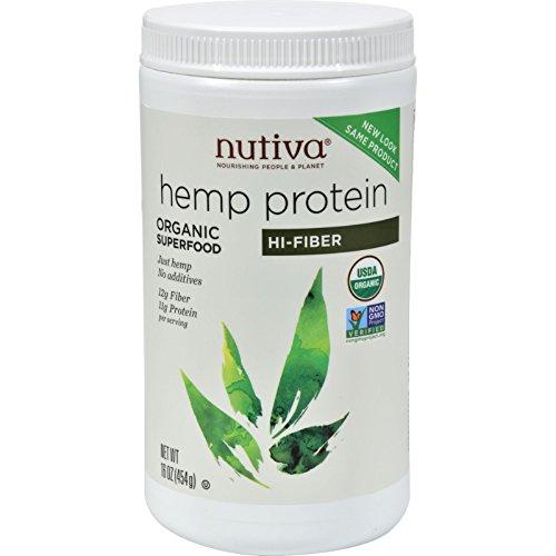 Nutiva Hemp Fbr Protein Powder
