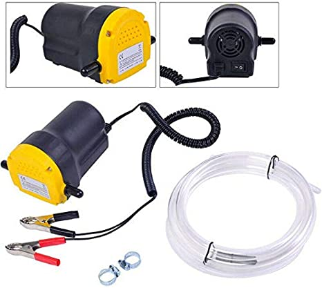 BeesClover - Bomba de extracción eléctrica de Aceite y diésel (5 A, 12 V)