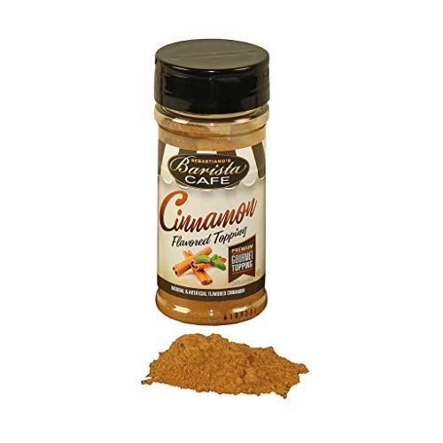 BARISTA CAFÉ CINNAMON TOPPING 3.7oz, 6-Count Packages (Pack of 6) ()