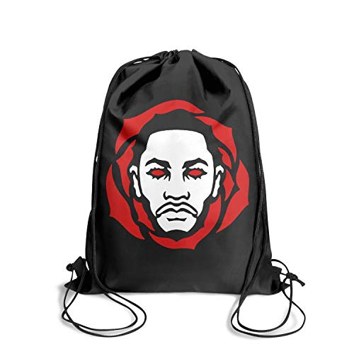 Special Sackpack Drawstring Backpack Pull String Personalized Durable (Rose Derrick Bracelet)