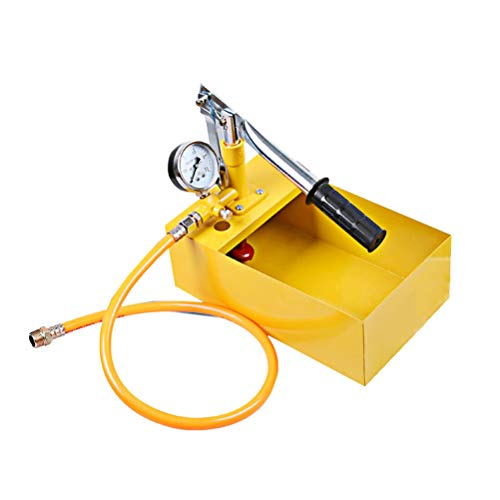 UKCOCO 25kg Aluminum Water Pressure Test Pump Hand Pump Test Tool Hydraulic Testing Tool