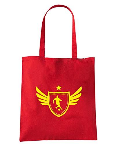 Speed Shirt Borsa Shopper Rossa WC1240 SOCCER PLAYER STAR