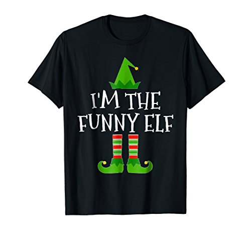 I'm The Funny Elf Matching Family Group Christmas T -
