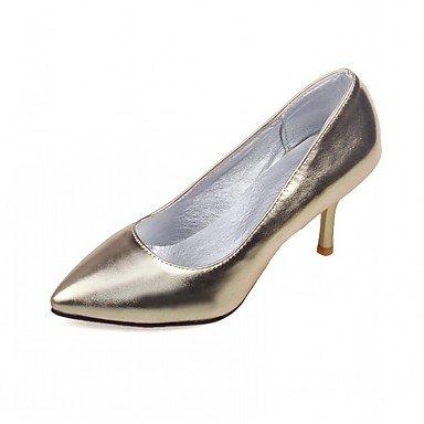 pwne Las Mujeres Sandalias De Verano Caen Club Zapatos Zapatos Formales Comfort Novedad Oficina Exterior De Piel Sintética Pu &Amp; Carrera Parte &Amp; Casual Vestido De Noche US3.5 / EU33 / UK1.5 / CN32