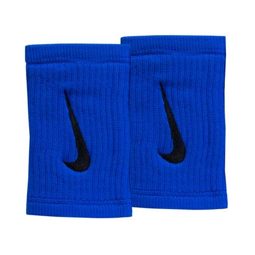 Nike Unisex Dry Fit Reveal Doublewide Wristbands - Cobalt Blue/Black