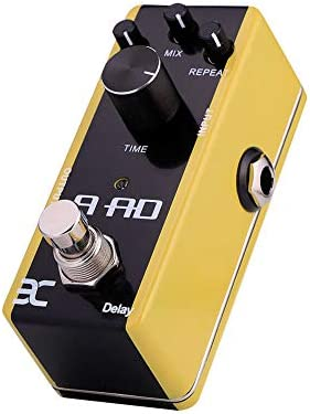 OUYAWEI EX AAD Guitarra acústica Pedal de demora Pedal de modelado ...