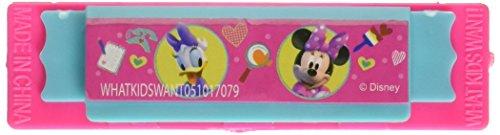 Minnie Mouse Bowtique 4pk Mini Harmonicas by Disney