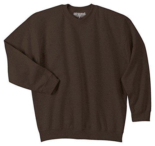 - GotApparel Men's Heavy Blend Crewneck Waistband Sweatshirt_Dark Chocolate_2XL
