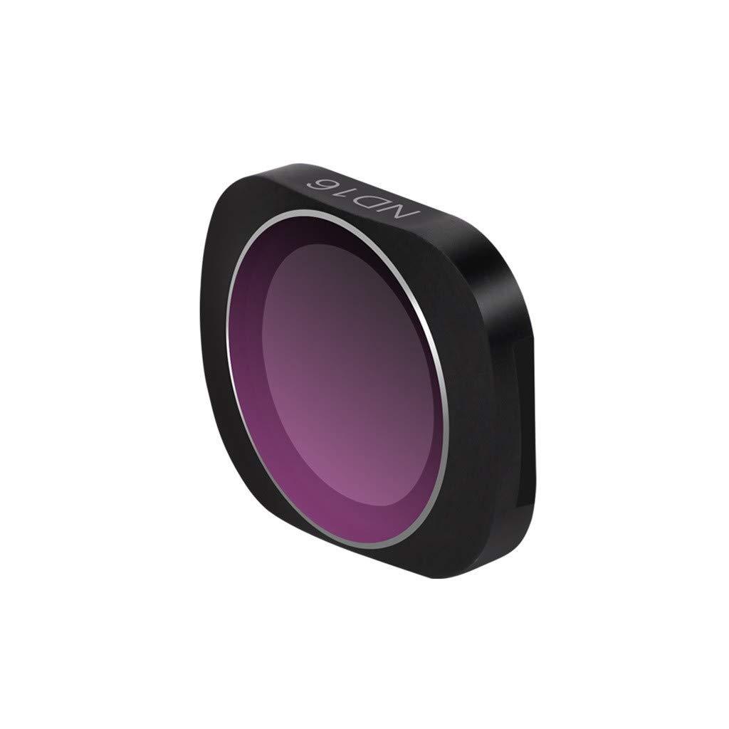Hisoul Hot  for DJI OSMO Pocket Camera Lens Filters | Ultra Light Frame | Angles Adjustable | Oil-Proof | Scratch-Proof | ND16 Camera Lens Filters (E)