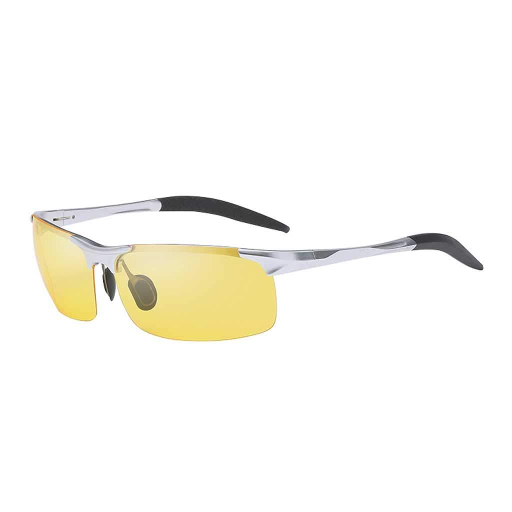 Unbekannt Aluminium-Magnesium-Nachtsicht-polarisierter Fahrspiegel der Männer, blendfreie Fischerei-Brille
