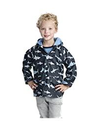 Hatley Boys' Great White Sharks Raincoat