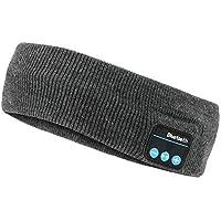 Sleep Headphones Bluetooth Headband Wireless Sports Headband Hands-Free Music, Bedphones Sleep Noise Cancelling…