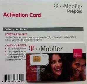 Prepaid SIM card (If you're using an iPhone, the SIM card is already in your phone.) Click the link to set up and activate your T-Mobile phone now. Contact T-Mobile Customer Service if you need assistance.