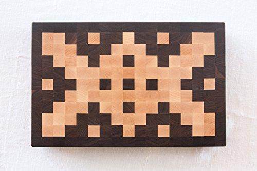 Chopping Blox Large End Grain Cutting Board in Walnut and Maple, AZXM-W