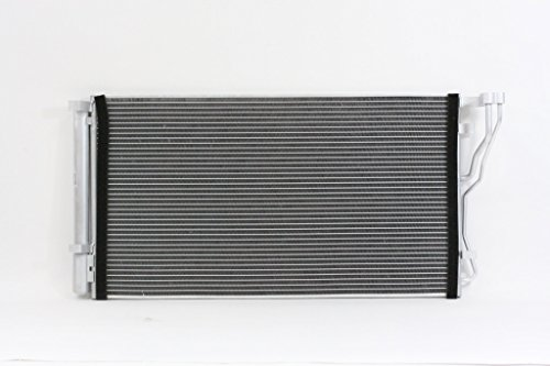 A-C Condenser - Pacific Best Inc For/Fit 3888 11-14 Hyundai Sonata 2.4L 11-15 Kia Optima 2.4L 12-14 Azera 14-16 Cadenza