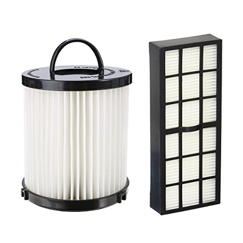 Mumaxun Replaces DCF-21 Filter 68931A 68931 + HF-7 HEPA Filter 61850 Kits, Upright Vacuum Dust Cup Filter for Eureka Vacuums