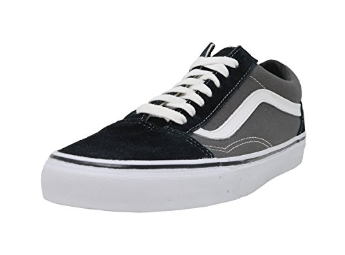 Vans Unisex Old Skool Black/Pewter Skate Shoe 4 Men US / 5.5 Women US
