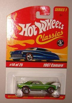 hot wheels camaro 1967 - 8