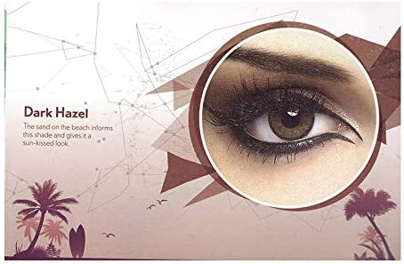 9efe689caa2 Buy Bausch   Lomb Natural Look Contact Lens Dark Hazel 3 Months Disposable ( Pack of 2 Pcs + 1 Lens Case) Online at Low Prices in India - Amazon.in