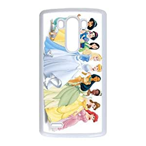 disney princess LG G3 Cell Phone Case White custom made pgy007-9941260