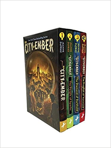 The City of Ember Complete Boxed Set: Jeanne DuPrau: 9780399551642 ...