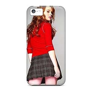 Iphone 5c TUxPXSp7047ZoTvi Lindsay Lohan Mini Skirt Tpu Silicone Gel Case Cover. Fits Iphone 5c
