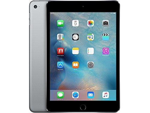 Apple iPad mini4 Wi-Fi+Cellular 128GB スペースグレイ (MK762J/A)の商品画像