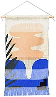 """Society6 Mpgmb Shape Study #15 - Stackable Collection Fiber Wall Hanging, 11"""" x 15.5&qu"""