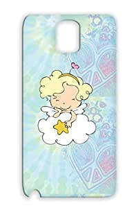 Little Angel With Heart White Cupid Wings Baby Angel Smile Cloud Family Girlygiggles Com Star For Sumsang Galaxy Note 3 Case Cover