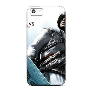 LauraAdamicska Iphone 5c Protector Hard Phone Cases Allow Personal Design High-definition Assassins Creed Image [iYI7848refI]