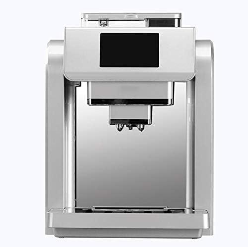 QUANOVO Máquina De Café Totalmente Automática Espuma De Leche Y Moler Cafetera Integrada Pantalla Táctil Inteligente Máquina De Espresso Tres Colores para Elegir,Blanco: Amazon.es: Hogar
