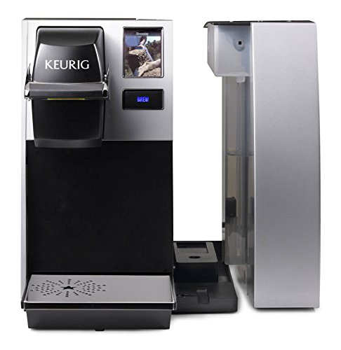 41eCL7O7gWL - Keurig K150 Single Cup Commercial K-Cup Pod Coffee Maker, Silver(Direct plumb kit not included)