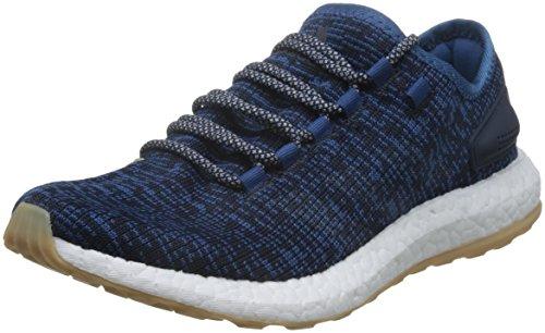 Adidas Pureboost, Zapatos para Correr para Hombre, Azul (Azubas/Lino/Maosno), 43 EU