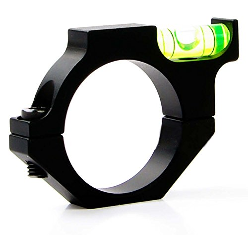NuoYa001 Tactical Rifle/Airgun Scope Alloy Spirit Level Bubble for 30mm Mounts Bolt on (Include a Cycling Reflective Band as gift)