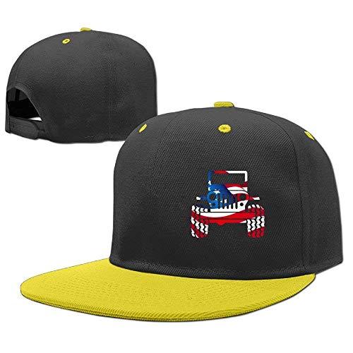 Boy Girl Hat Gorras Hop Jeep Hip Baseball Flag béisbol RGFJJE Cap 4gwS7xq