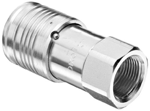 Dixon 4HTF6 Steel Flush Face Hydraulic Quick-Connect Fitting, Coupler, 1/2