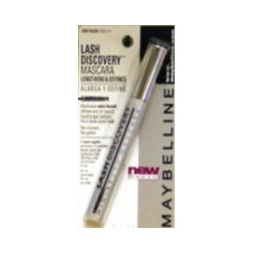 Maybelline New York Lash Discovery Washable Mascara, Very Black [351] 0.16 oz (Pack of 12)