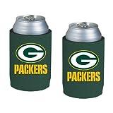 packers can holder - NFL Football Can Insulators - Neoprene Beer Can Kolder Holders, Set of 2 (Packers)