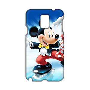 Angl 3D Case Cover Mickey & Minnie Cartoon Phone Case for Samsung Galaxy Note4