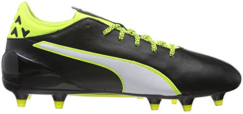 01 Fg Compétition white Chaussures Yellow De Schwarz black Evotouch Football Homme Puma safety 2 Noir 6qwYTE