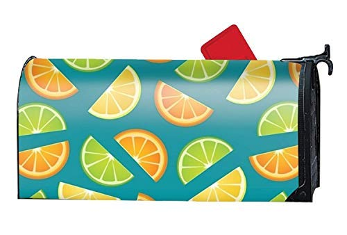 (Tollyee Mailbox Covers Magnetic Lemons Fairy Door Magnetic Mailbox Cover 9