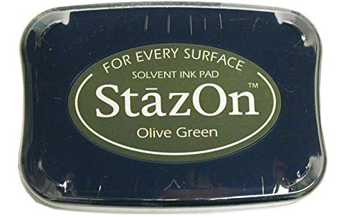 StazOn Color Ink Pad Color: Olive Green