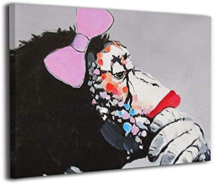 Mzznz キャンバス装飾画壁掛け木製額縁アートポスターアート室内装飾絵画