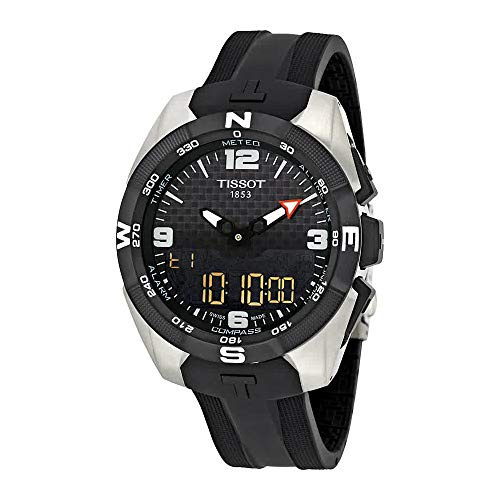 Tissot T-Touch Expert Solar NBA Speacial Edition Black Dial Mens Watch T0914204720701 (Watches For Men Touch)