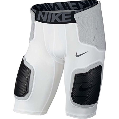 Nike Pro Mens Hyperstrong Core Football Shorts White